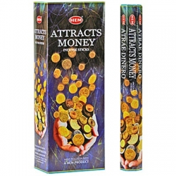 Hem Attracts Money Incense (Hex)